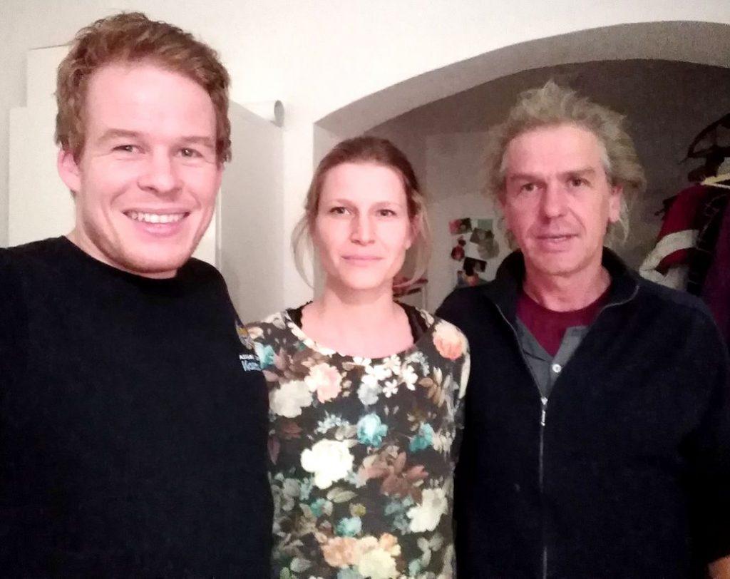 Helmut, Lea und Gerd
